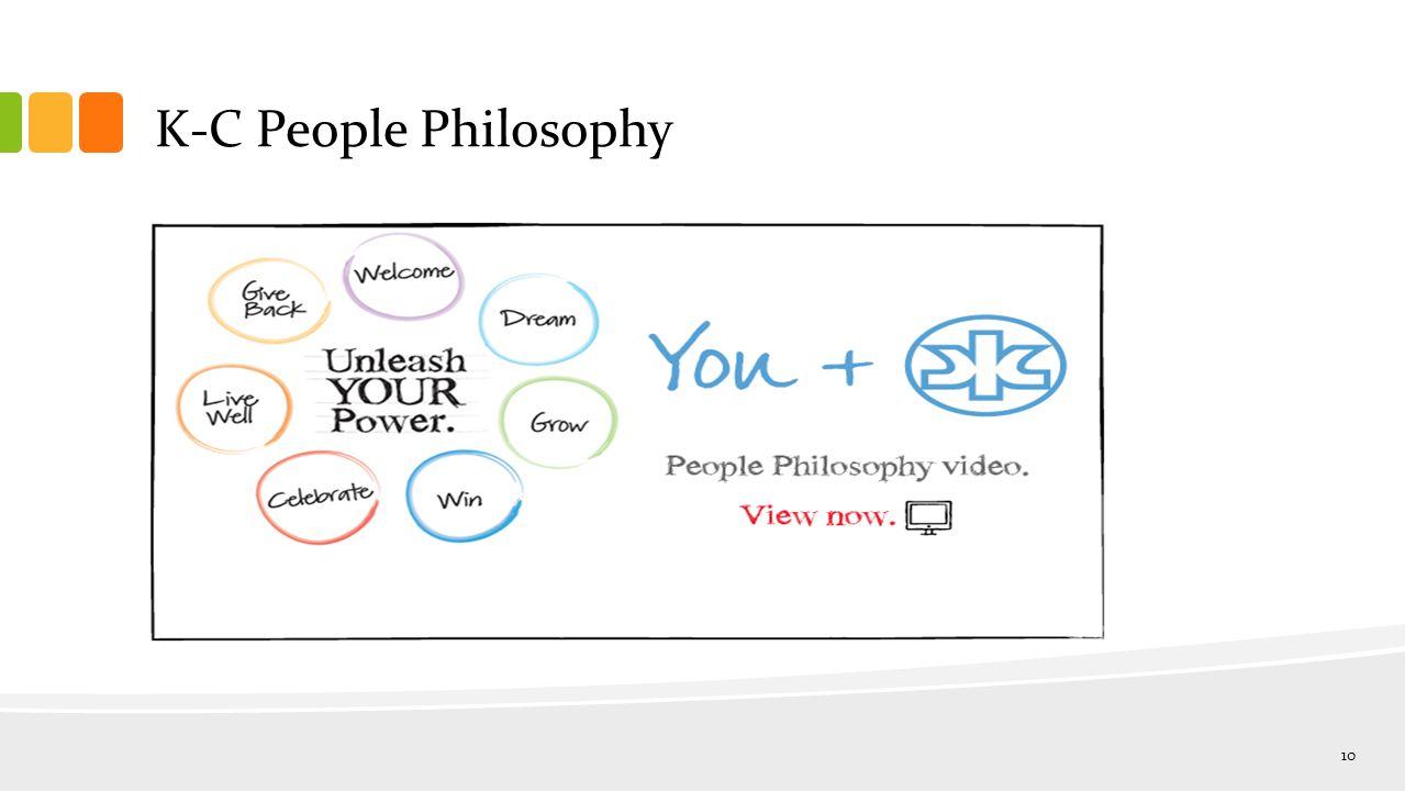K-C People Philosophy 10