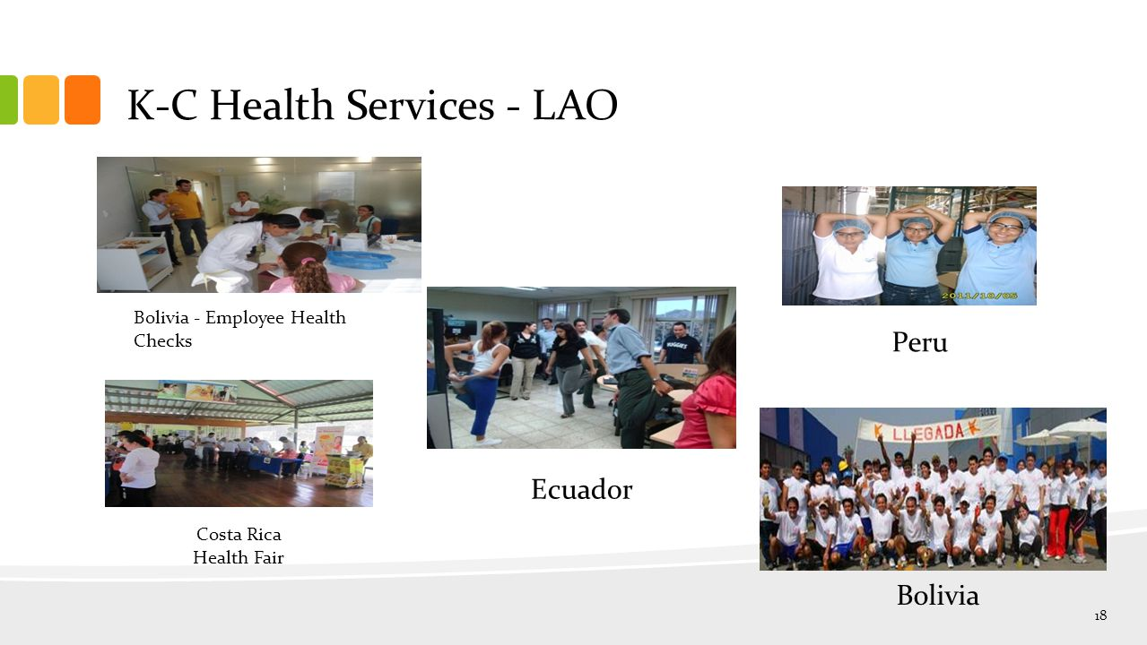 K-C Health Services - LAO Bolivia - Employee Health Checks Bolivia Peru Ecuador Costa Rica Health Fair 18