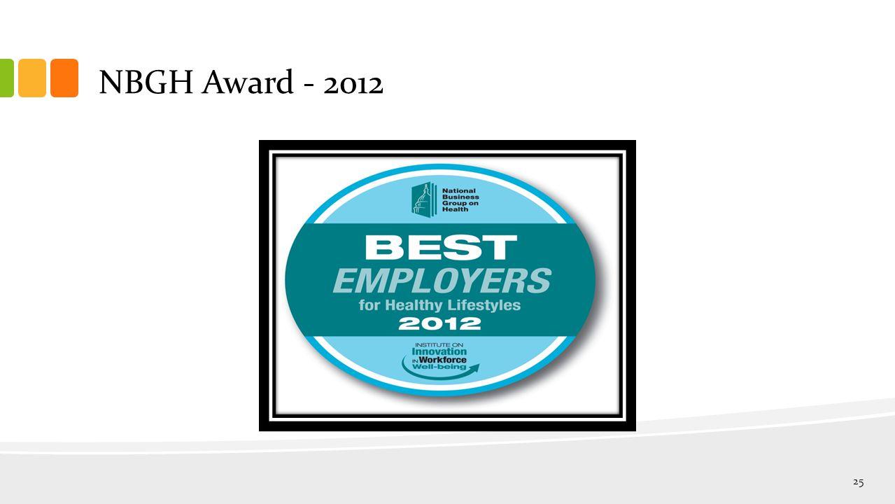 NBGH Award - 2012 25