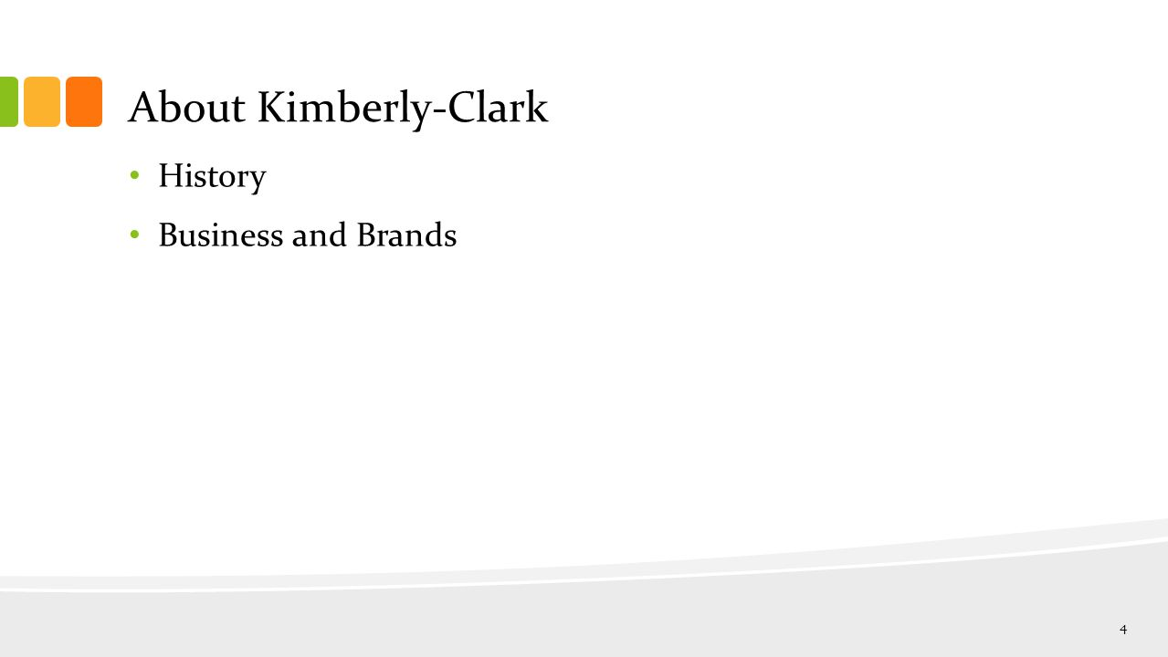 About Kimberly-Clark History Business and Brands 4