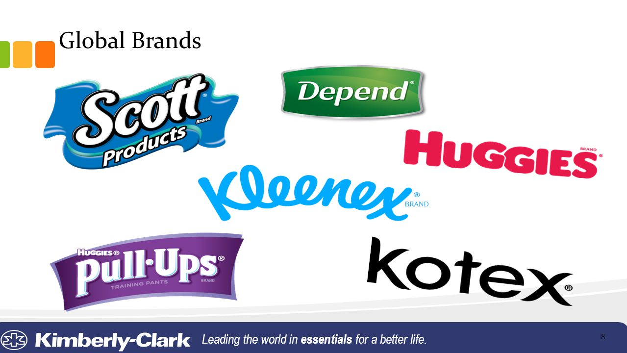 Global Brands Leading the world in essentials for a better life. 8