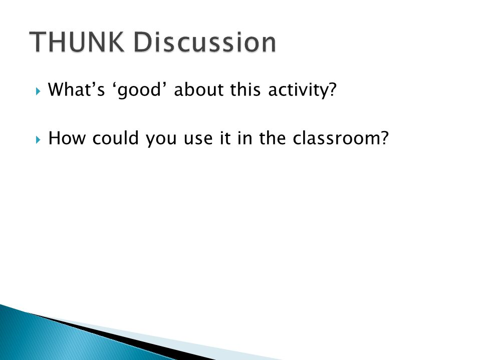  Understand the importance of collaborative learning and talk in the classroom  To have different strategies to use in the classroom for talk  Understand how to manage talk for learning in the classroom.