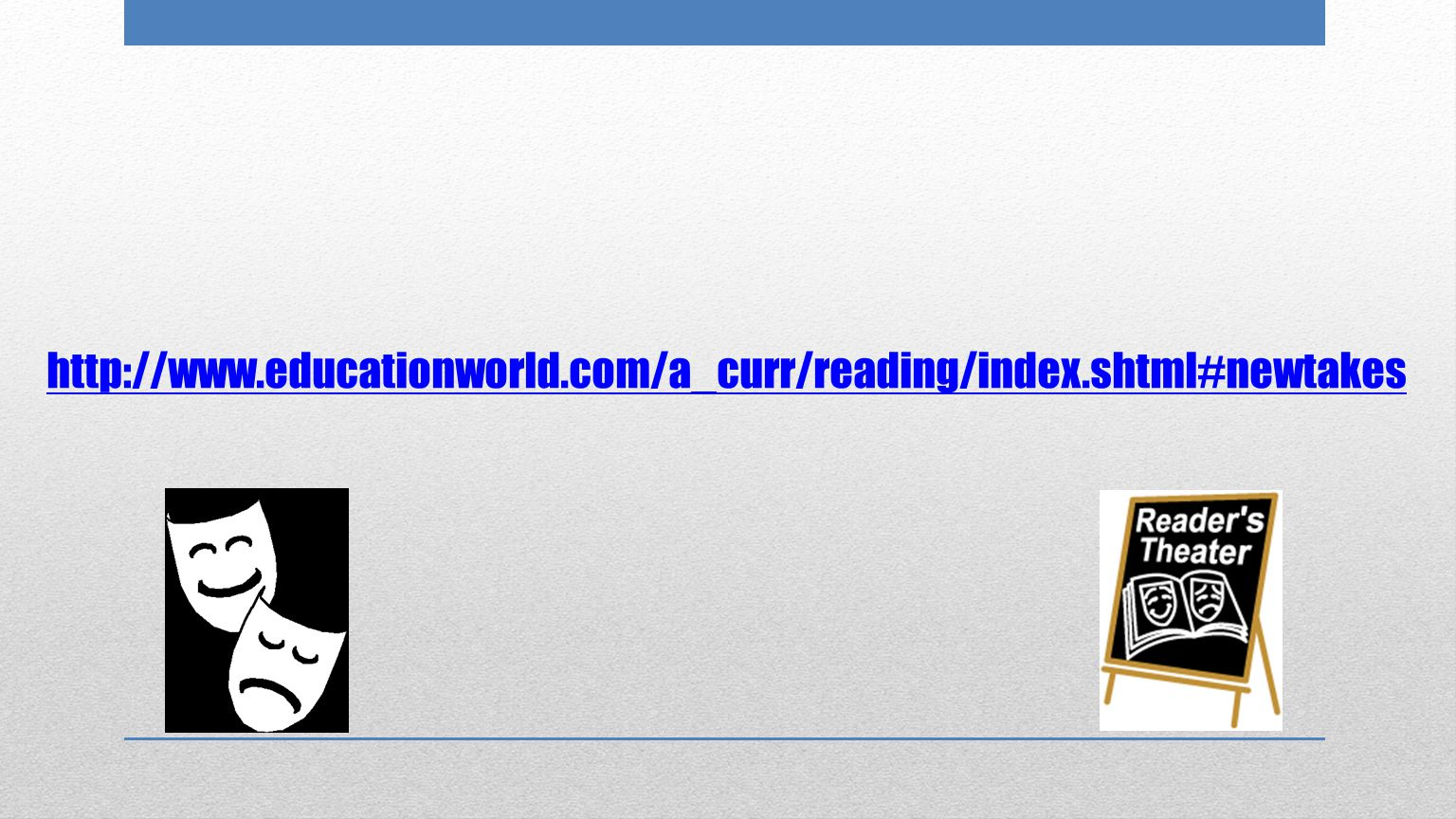 http://www.educationworld.com/a_curr/reading/index.shtml#newtakes