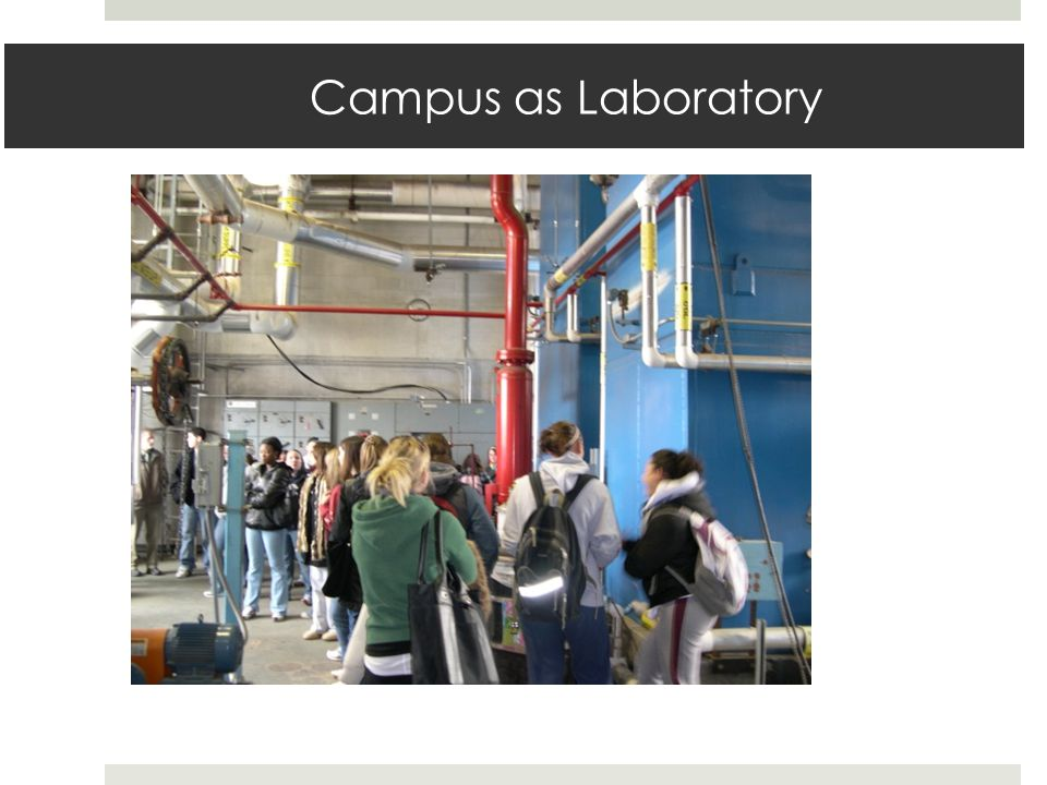 Campus as Laboratory