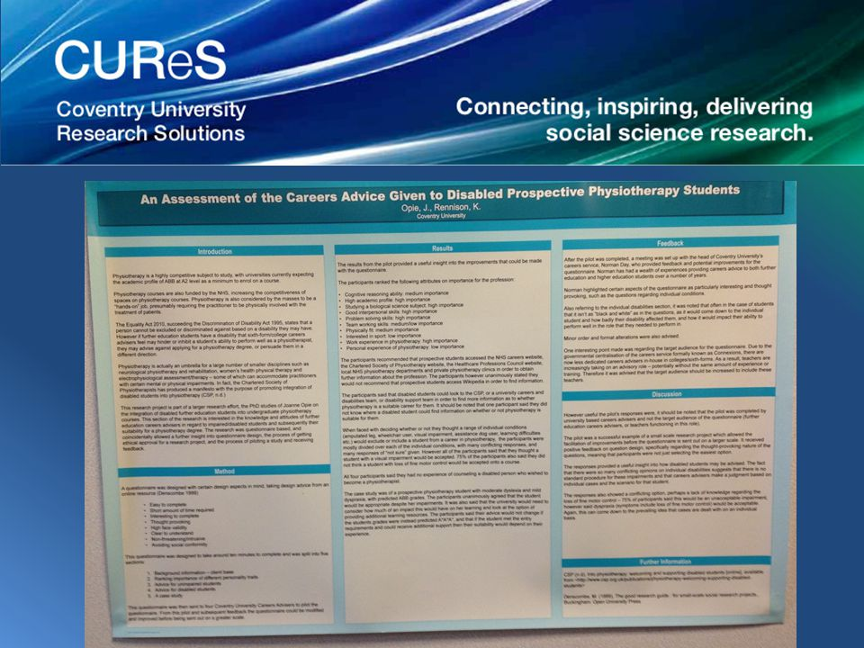 Marcus was a social sciences student who was asked to look at replication and standardisation within political science.