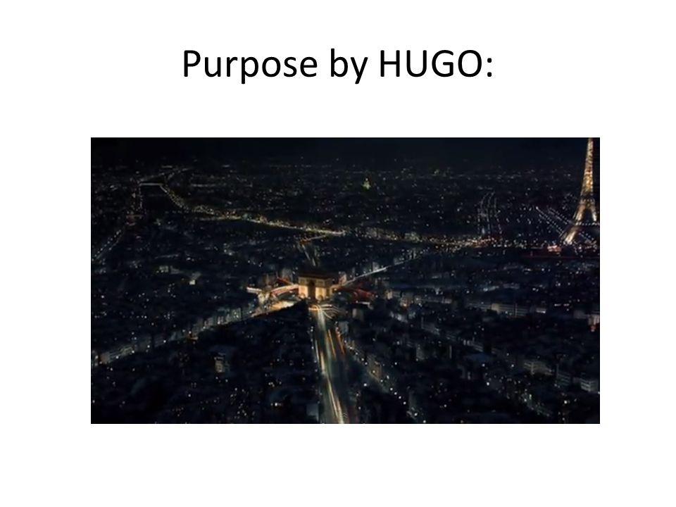 Purpose by HUGO: