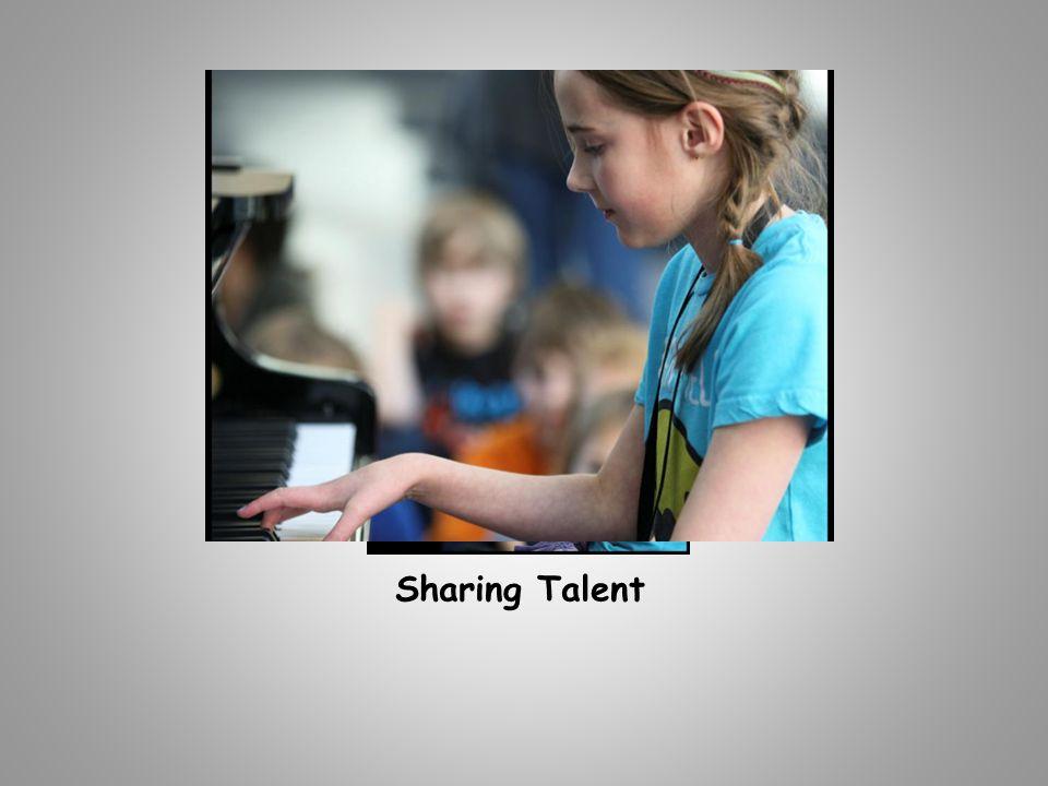 Sharing Talent