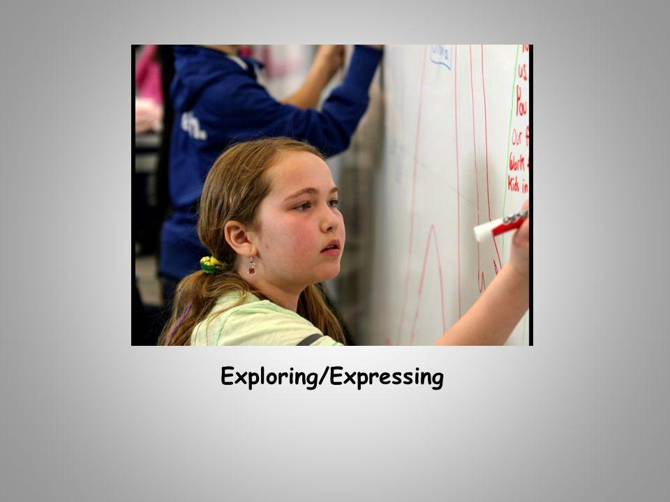 Exploring/Expressing
