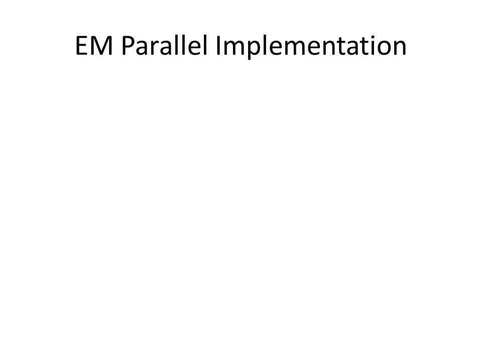 EM Parallel Implementation