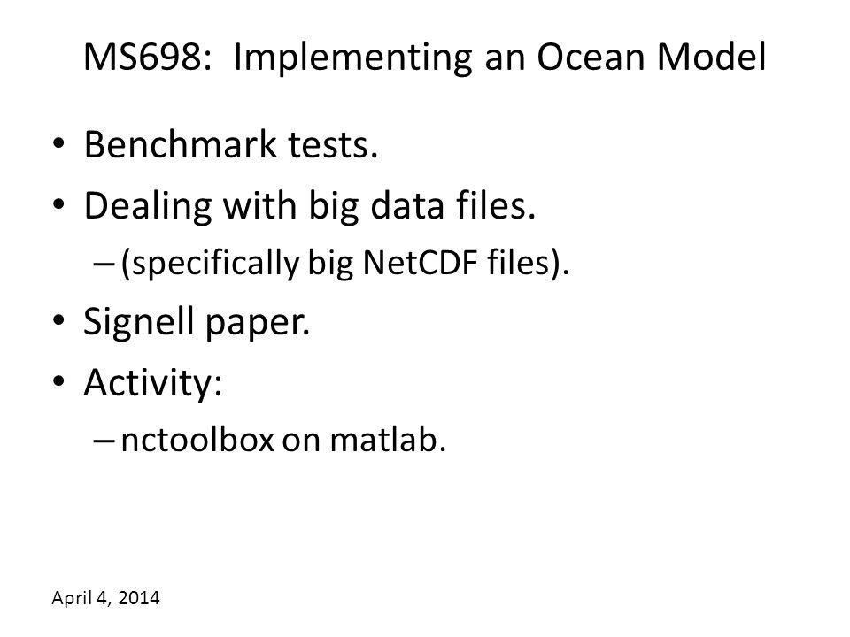Benchmark Tests Name NtileI, NtileJ (grid is 50x70) No.