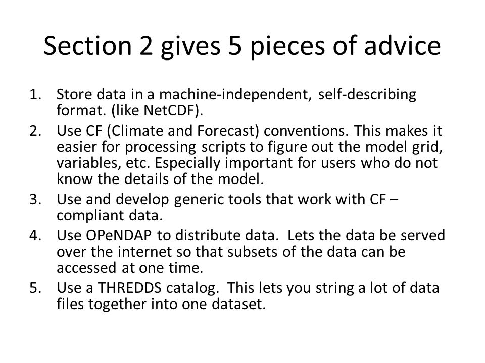 Now for our example: How can we deal with big datasets.