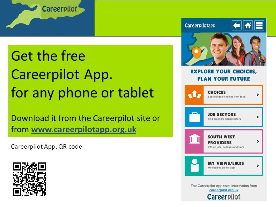 Get the free Careerpilot App.