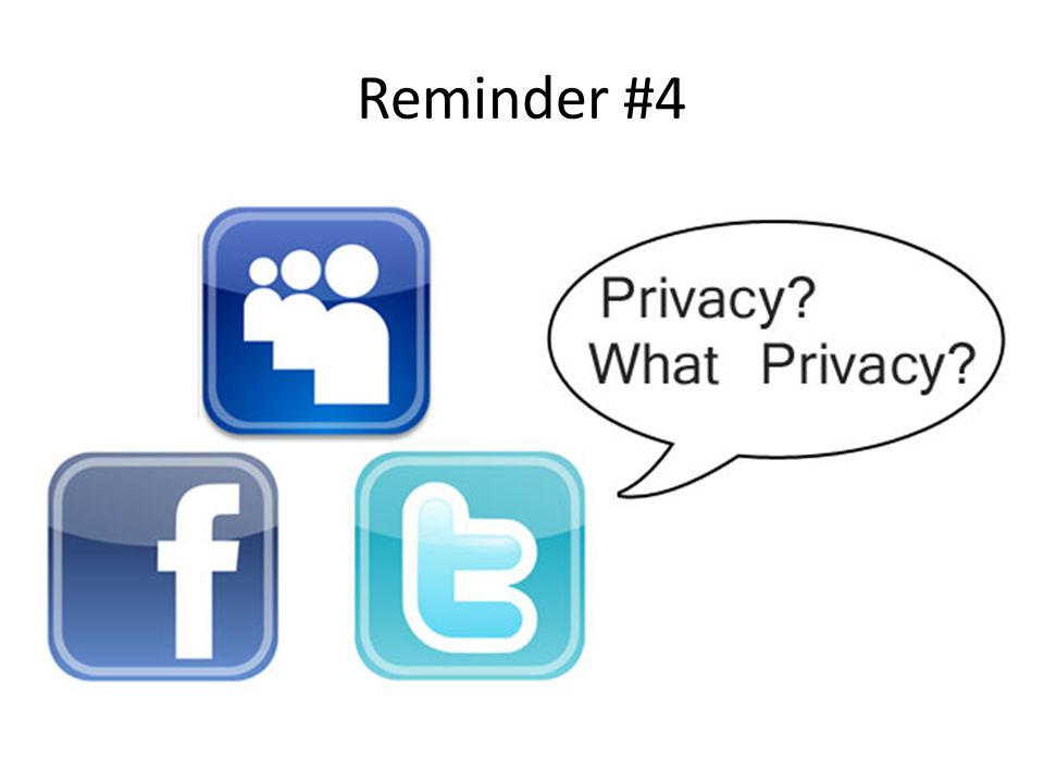 Reminder #4