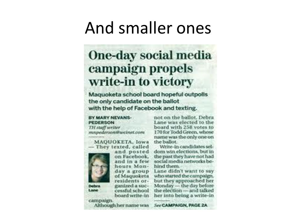 Our focus We're most concerned with social media as a member communication tool.