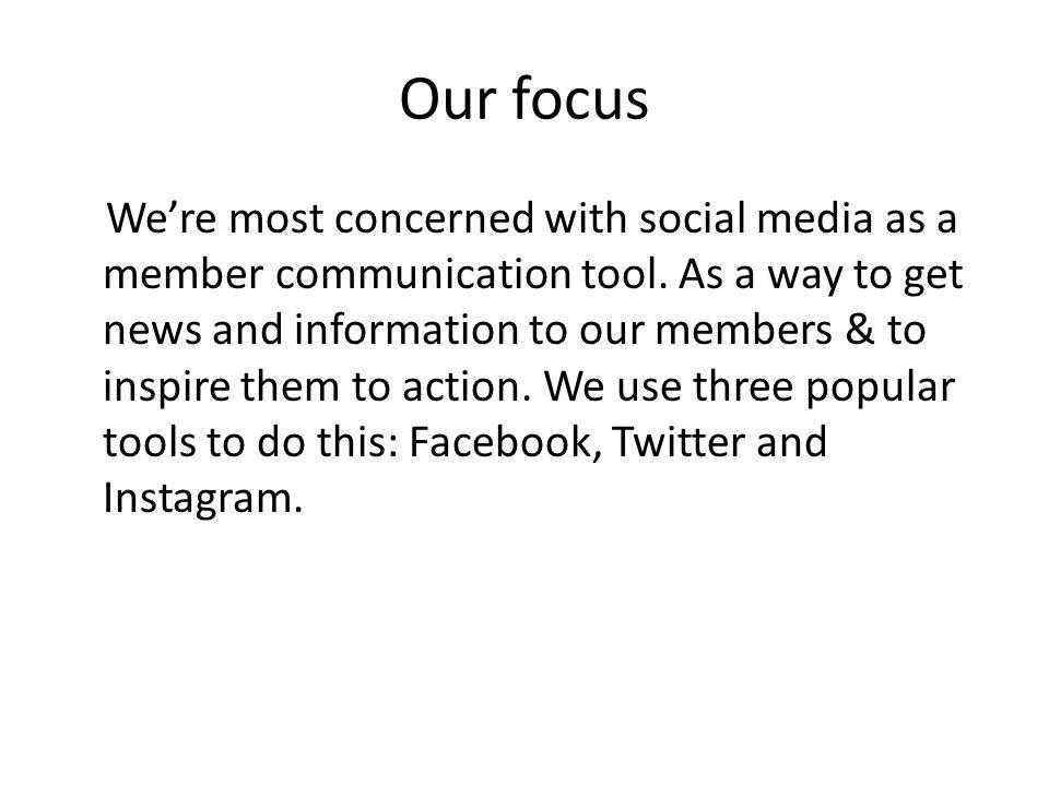 Facebook tips Keep FB posts short and conversational.