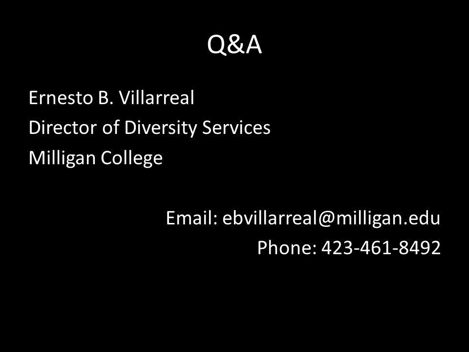 Q&A Ernesto B.