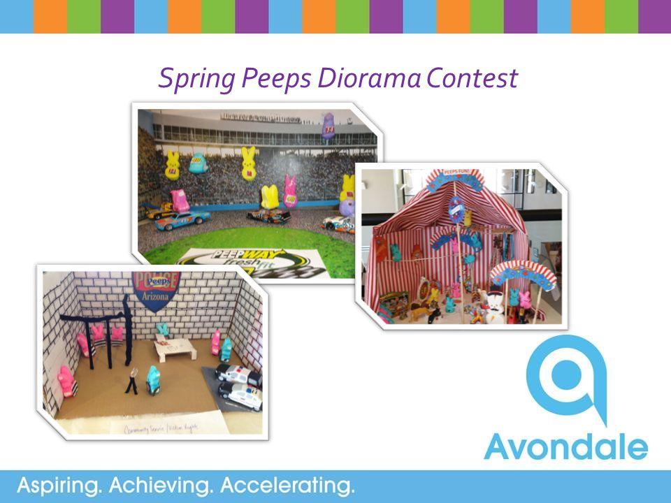 Spring Peeps Diorama Contest