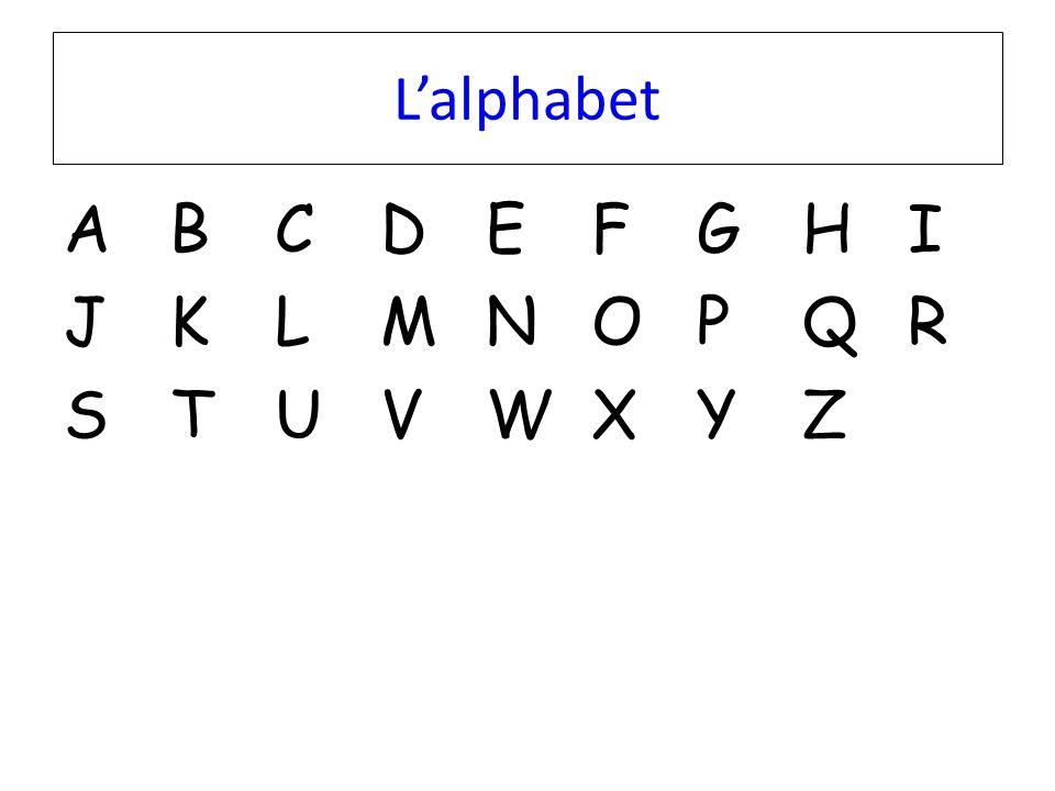 L'alphabet ABCDEFGHIJKLMNOPQRSTUVWXYZABCDEFGHIJKLMNOPQRSTUVWXYZ