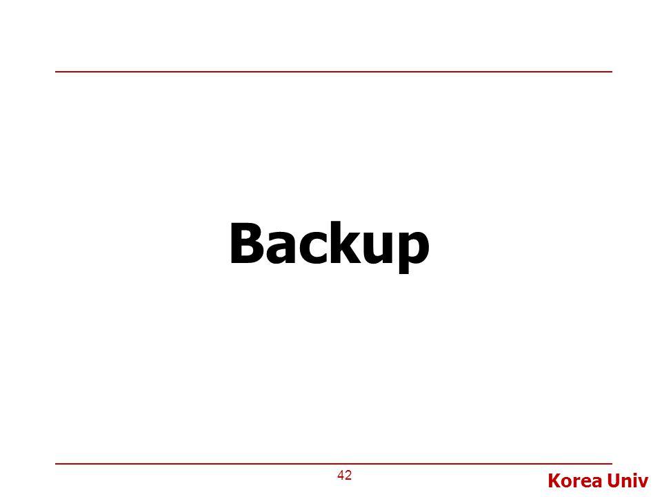 Korea Univ Backup 42