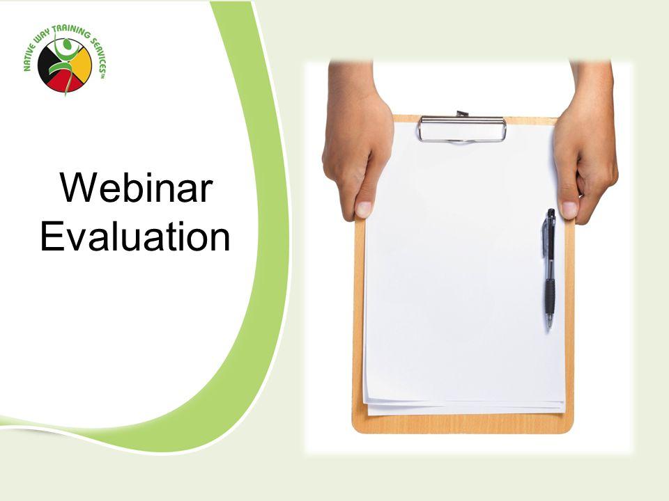 Webinar Evaluation