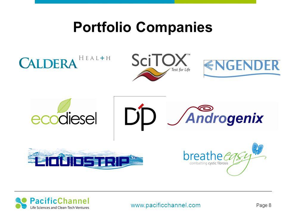 Page 8 www.pacificchannel.com Portfolio Companies