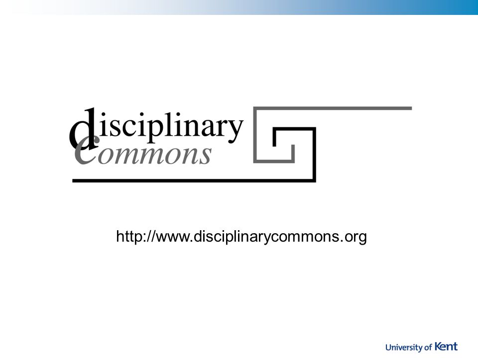 http://www.disciplinarycommons.org