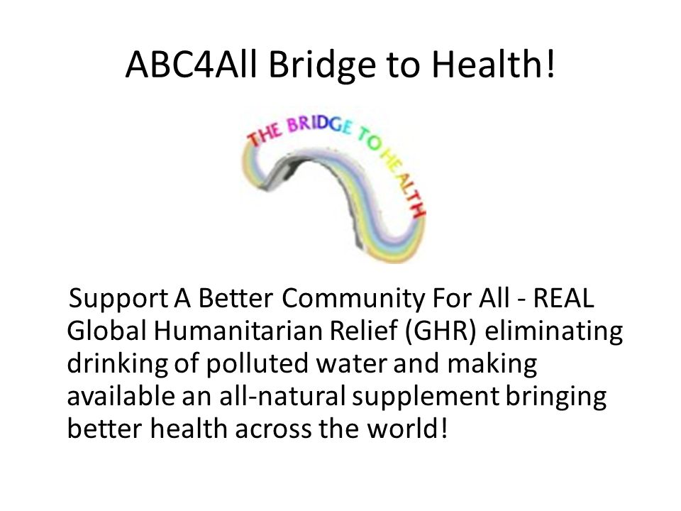 ABC4All Bridge to Health.