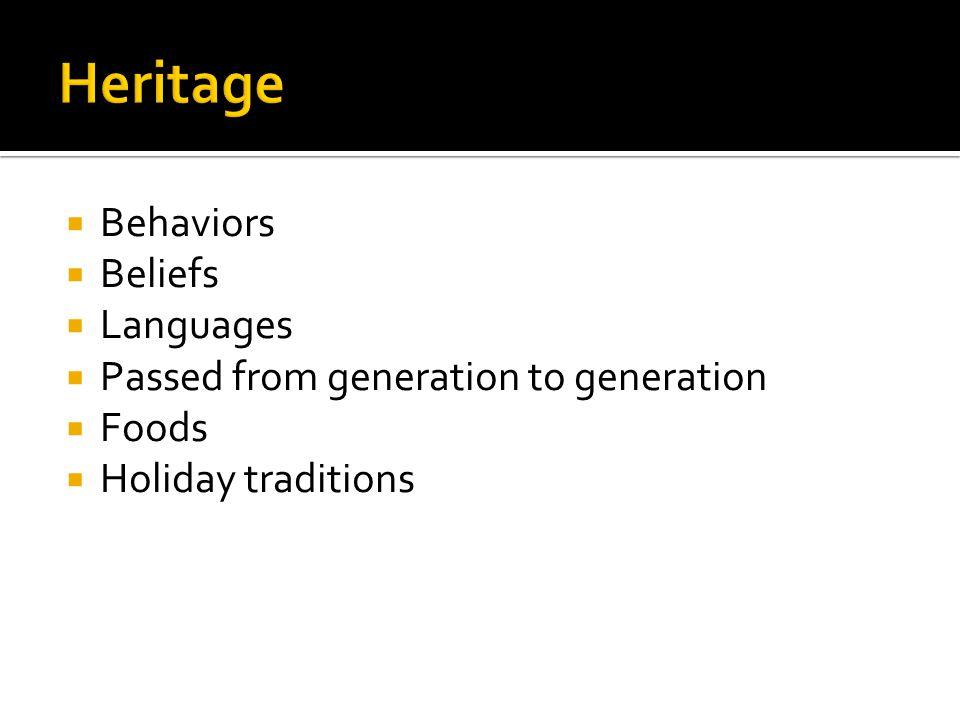  Native Americans: original Americans  European Americans:  Asian-Americans  African-Americans  Hispanics