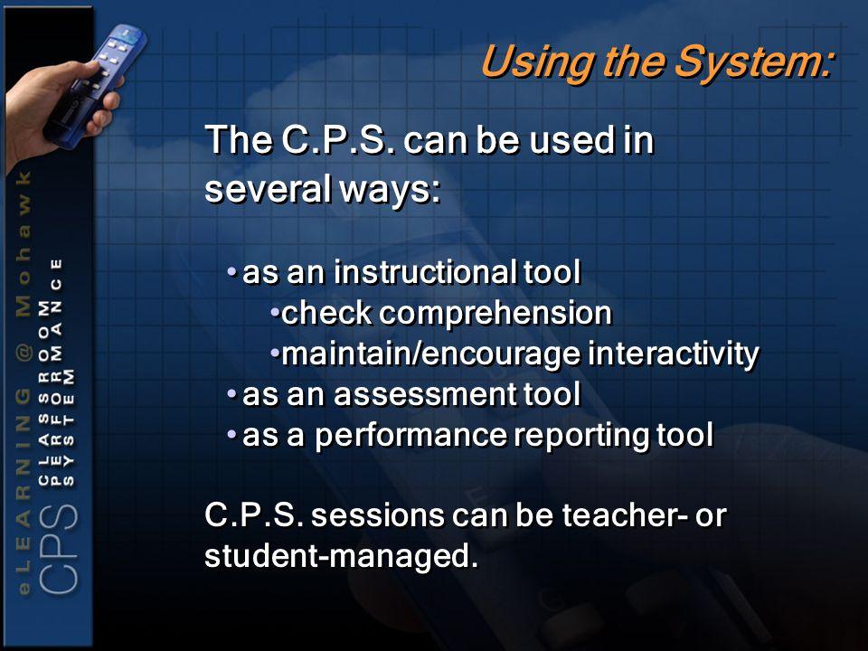 The C.P.S.