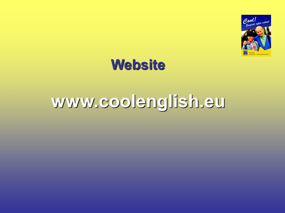 Websitewww.coolenglish.eu