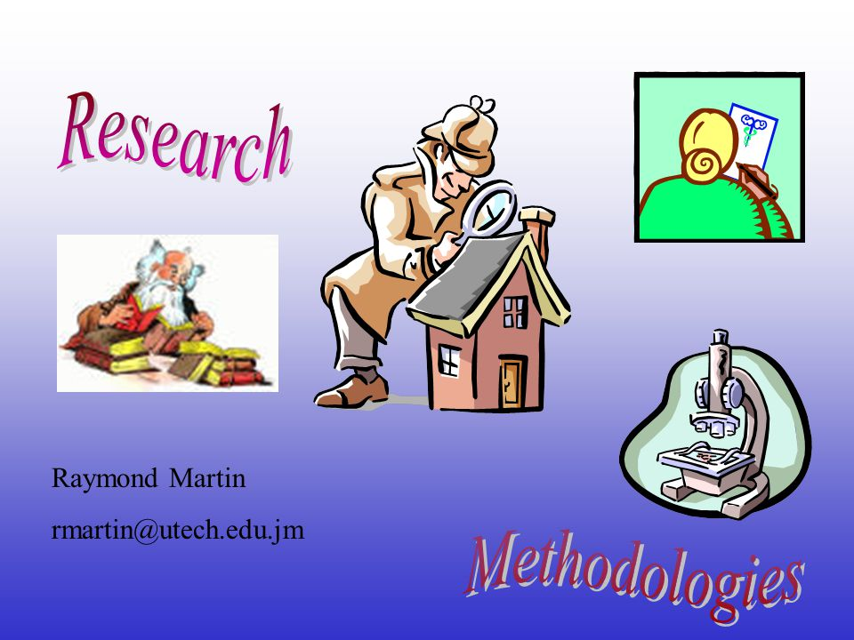 Components of the Research Proposal Introduction Literature Review (Past Tense) Methodology (Written in the Future Tense) Results (Present Tense) –Describe type of data expected Budget Timeline Copies of questionnaires etc.