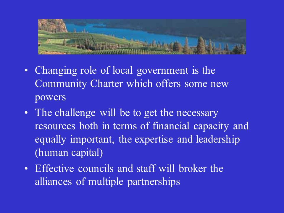 Strong Community buy-in is of key importance Developing long-term sustainable capacity by ongoing recruitment, training and cultivating of local leaders skilled in CED Effective collaboration with all levels of government Dynamic working partnerships with local community groups What are indicators of a community engaged in CED