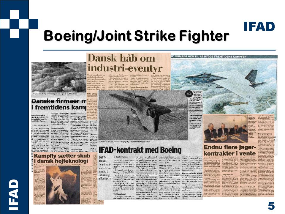 IFAD 5 Boeing/Joint Strike Fighter