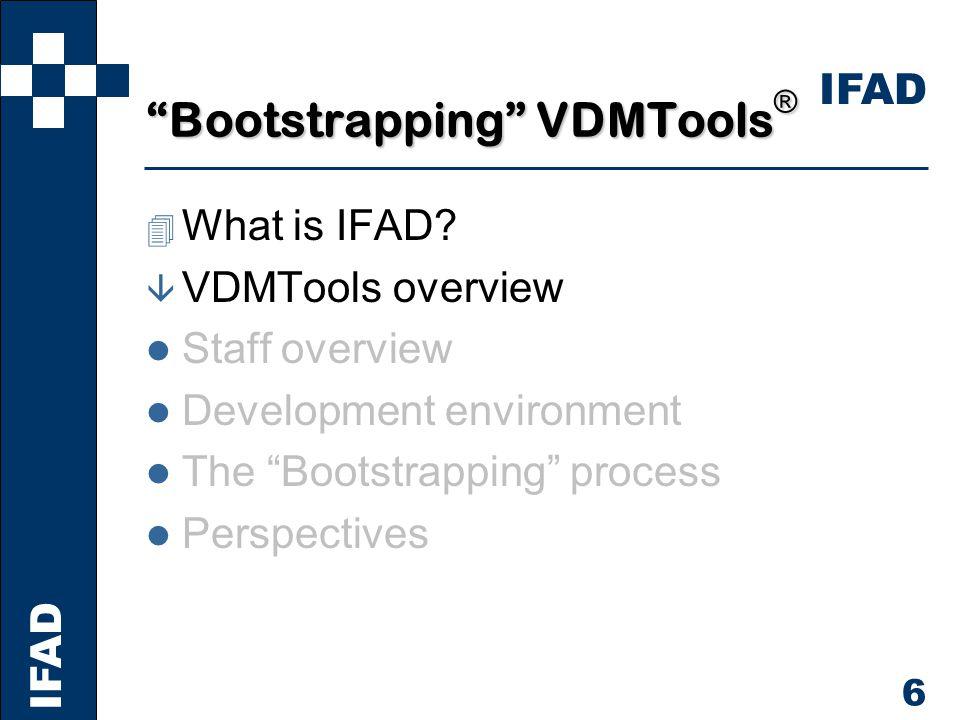 IFAD 7 VDMTools