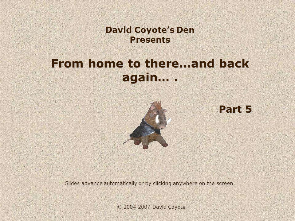 © 2004-2007 David Coyote There's a visual paradox.
