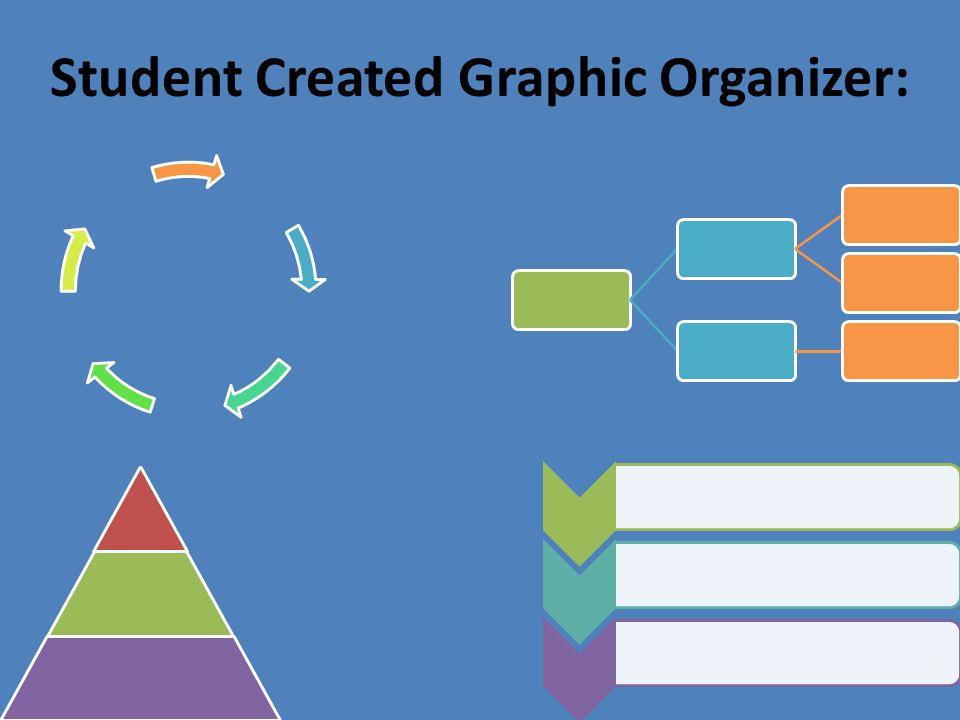 Student Created Graphic Organizer: