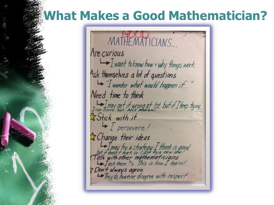 Math Talk Starters