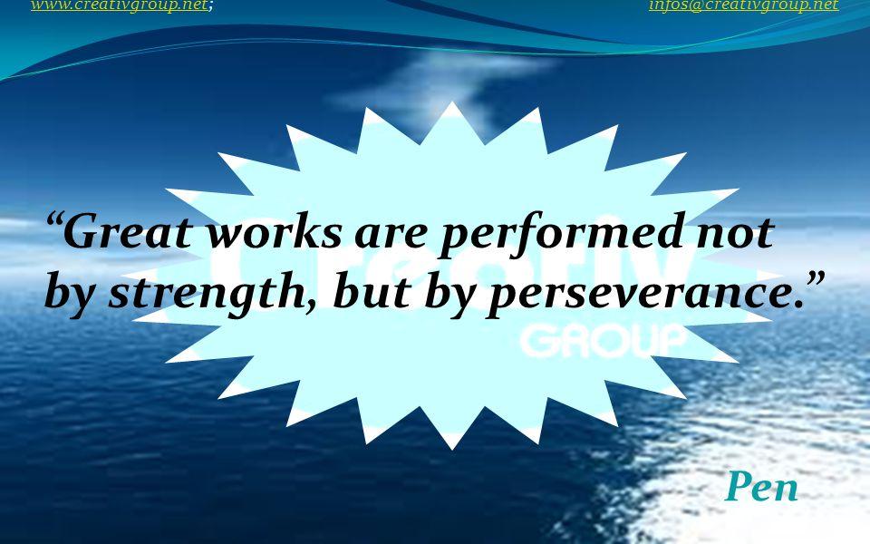If you are through with dreams, then progress halts. Baba Amte www.creativgroup.net; infos@creativgroup.net