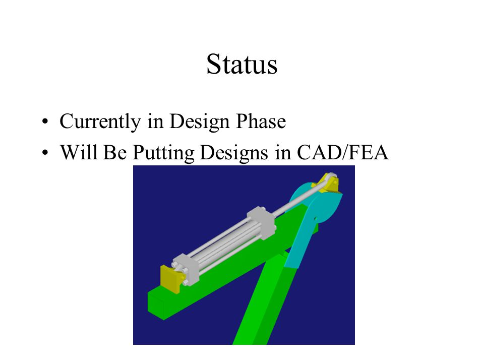 Future Work Complete Design Construct Prototype Develop Control Strategy