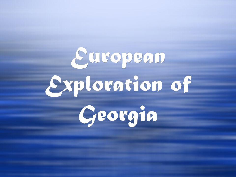 European Exploration of Georgia