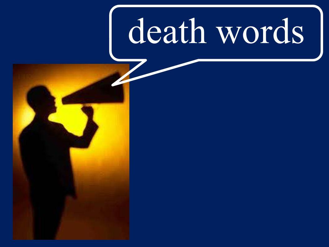 death words