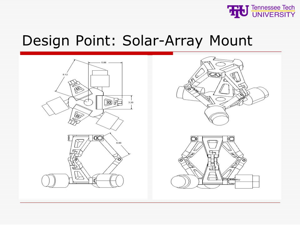 Design Point: Solar-Array Mount