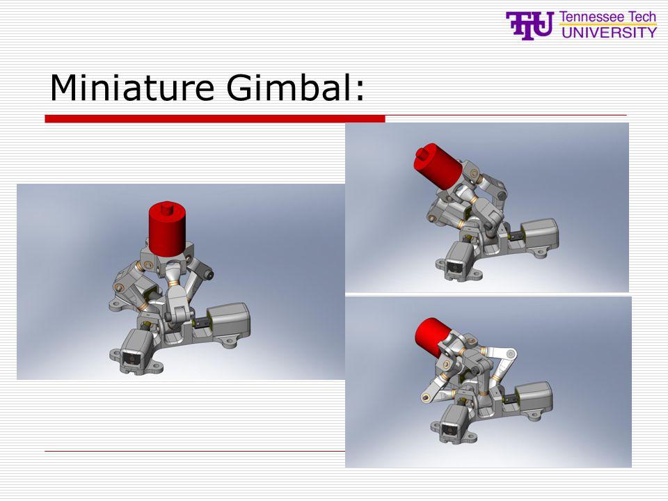 Miniature Gimbal: