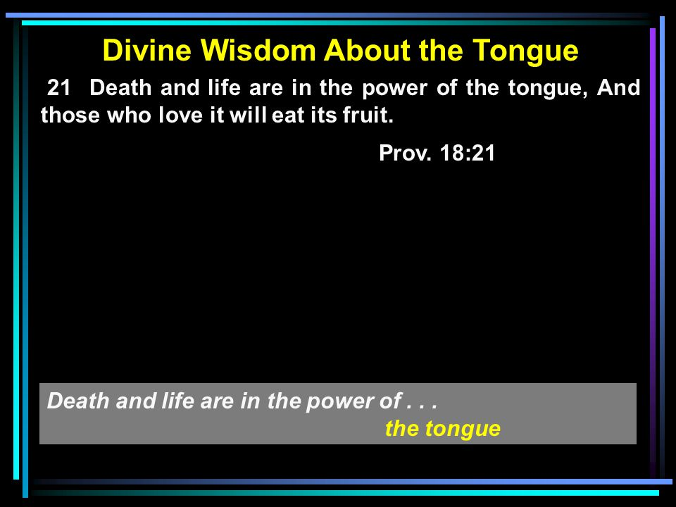 Divine Wisdom About the Lying - - - - - - - - - - - - - - - - - - - -... - - - -