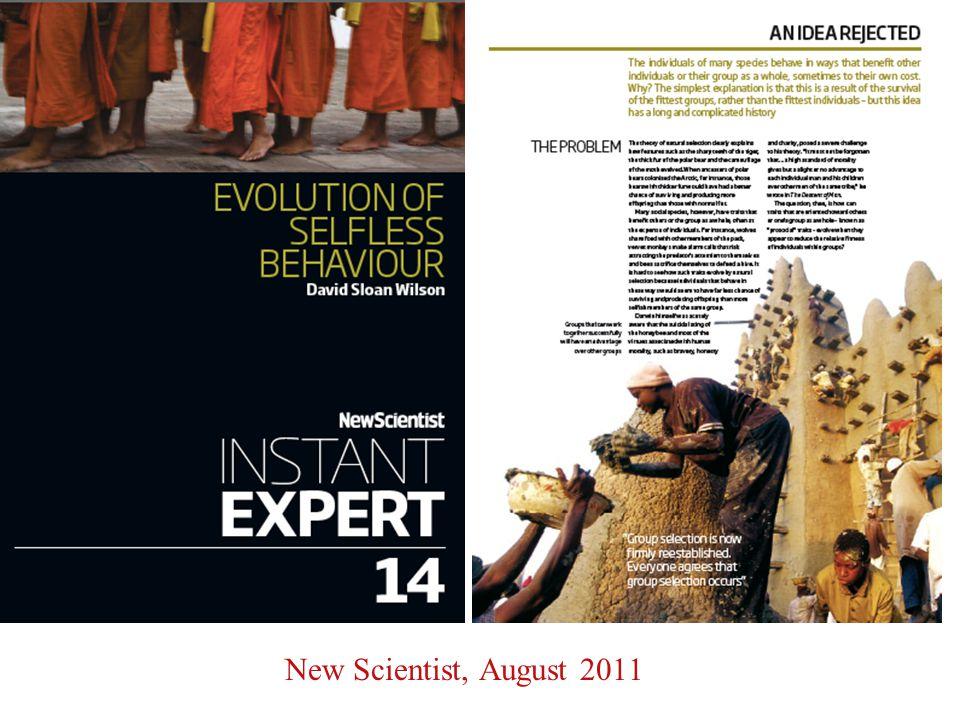 New Scientist, August 2011