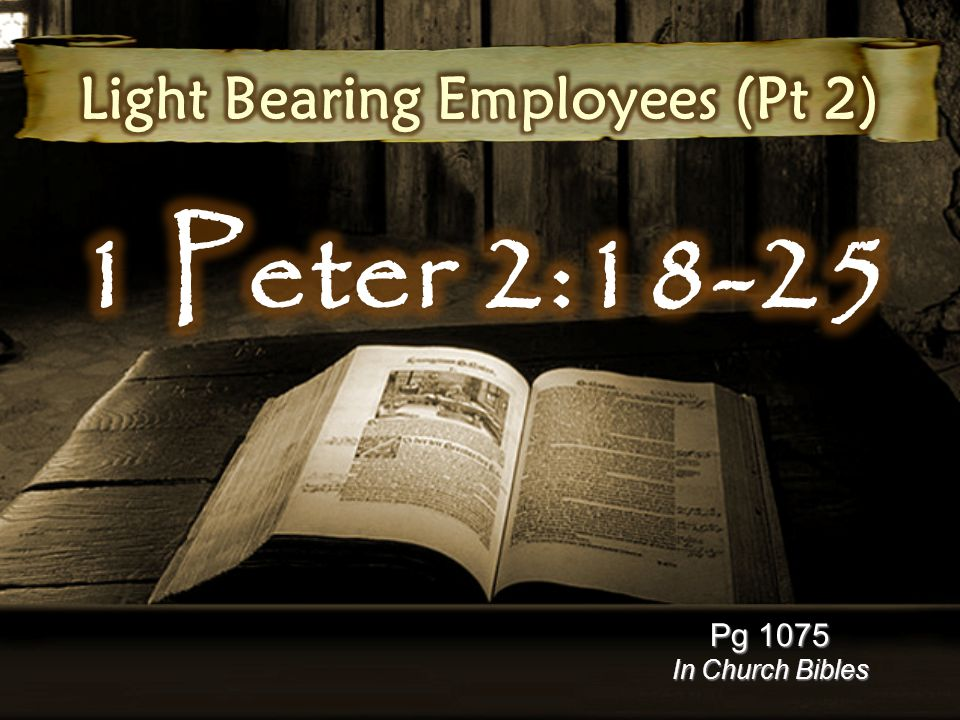 Pg 1075 In Church Bibles