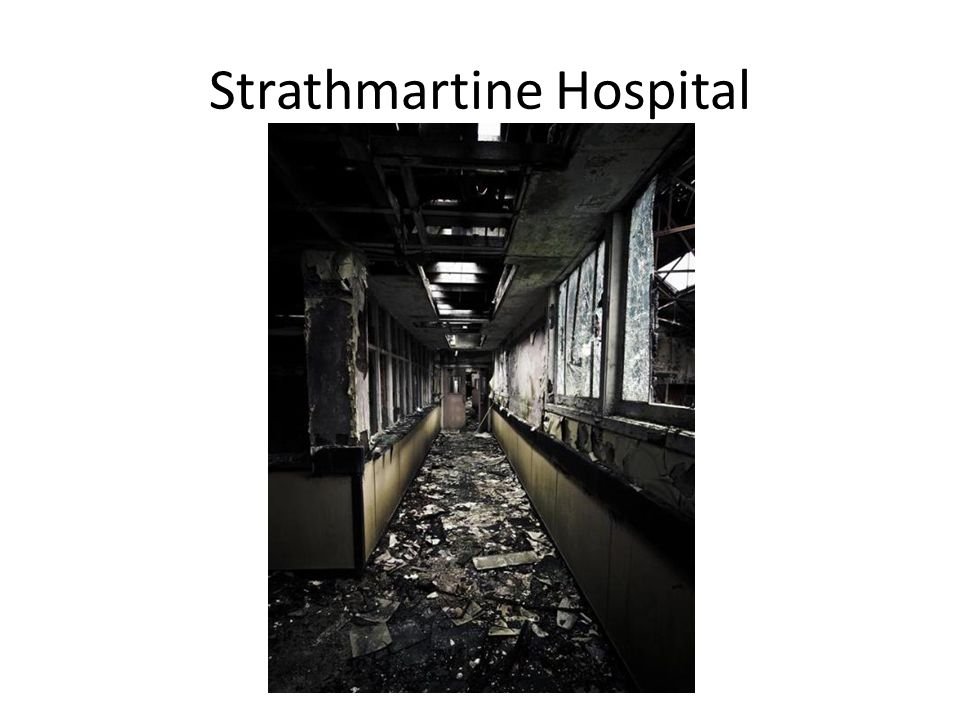 Strathmartine Hospital