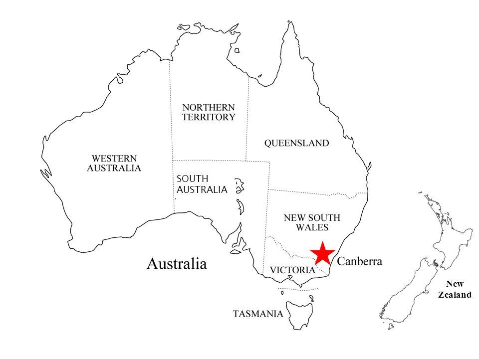 New Zealand SOUTH AUSTRALIA