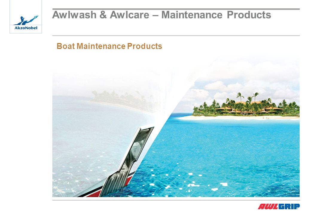 Awlwash & Awlcare – Maintenance Products Boat Maintenance Products