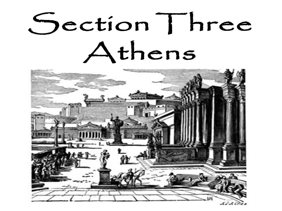 The city-state of Athens had a very different philosophy about living than the Spartans.